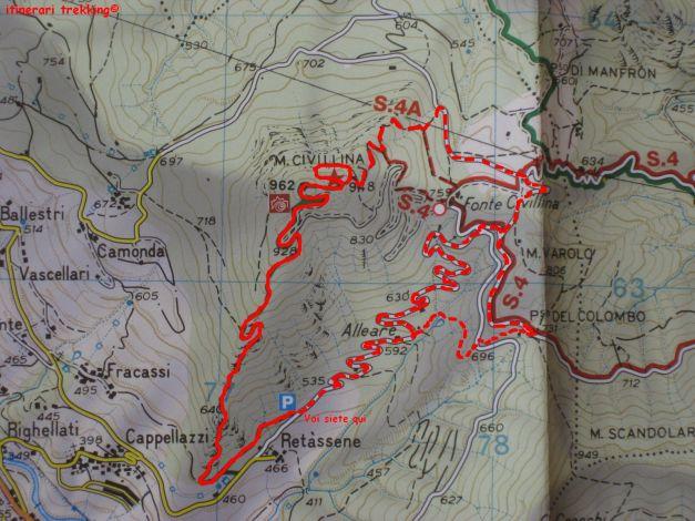 sentiello map